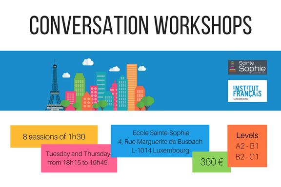 Atelier de conversation - ENGLISH (1)