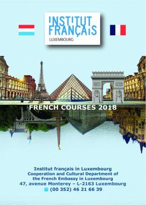 cours de français 2018