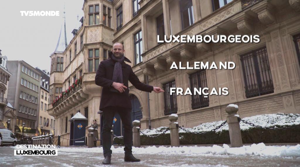 Ivan Kabacoff dans Destination Francophonie - Luxembourg