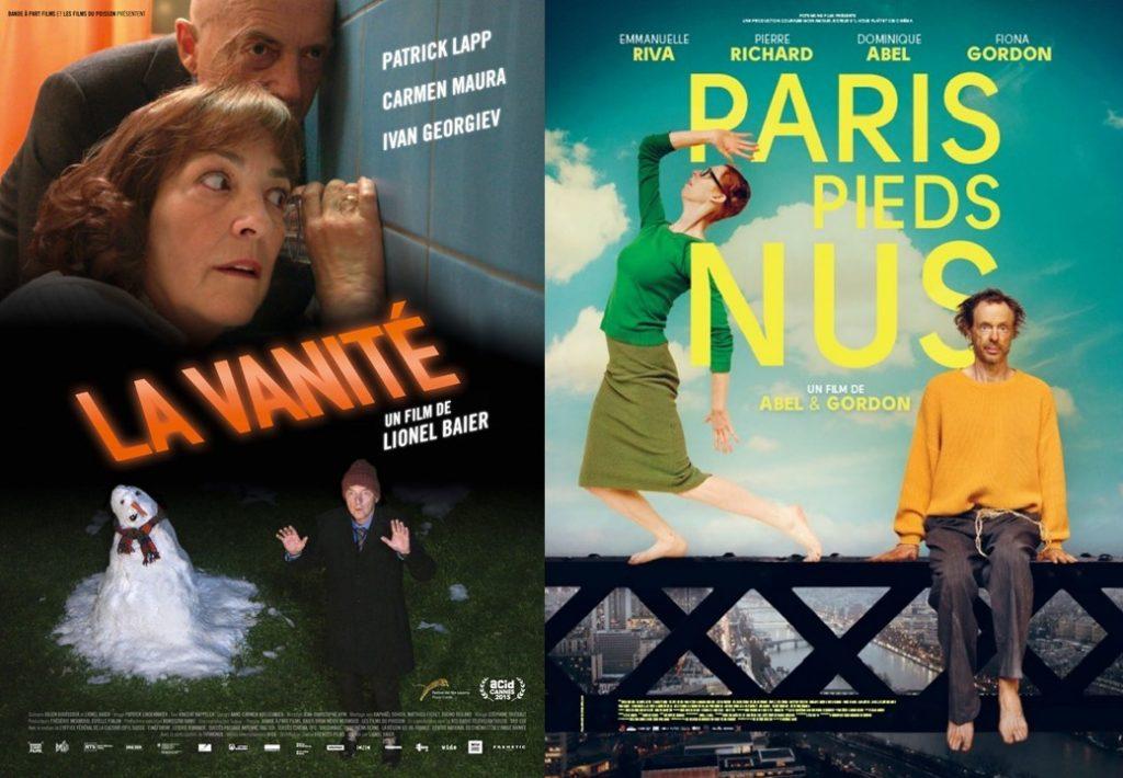 """Affiches """"La Vanité"""" et """"Paris pieds nus"""""""